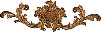 Hickory Manor House French Sunflower Cartouche, Etienne Gold