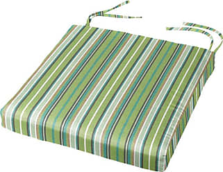 Cushion Source 18 x 18 in. Striped Sunbrella Chair Pad Foster Surfside - YJJJL-56049