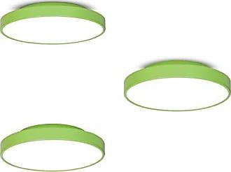 JD Molina Conjunto 3 Plafons MadeiraMadeira 25cm, 36cm e 50cm 380400 Verde