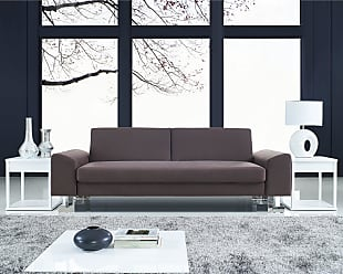 LumiSource Drake Modern Sofa Bed (Brown)