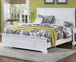 Home Styles Naples White Queen Bed by Home Styles