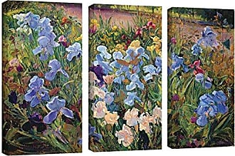 Brushstone Timothy Easton The Iris Bed, 1993 3 Piece Gallery Wrapped Canvas Set, 24X36