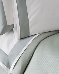 SFERRA Modern Sateen Applique King Flat Sheet