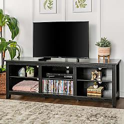 Porch & Den Toston 70-inch Black TV Stand (70 Essentials TV Stand - Black)