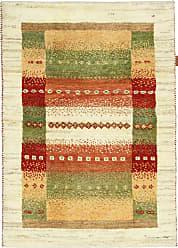 Nain Trading Persian Gabbeh Kashkuli Rug 40x29 Brown/Orange (Hand-Knotted, Iran/Persia, Wool)