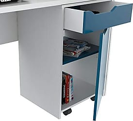 Inval America Desk with Swing Out Storage
