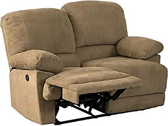 CorLiving LZY-392-L Lea Collection Reclining Loveseat Brown