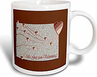 3drose Bronze Dream Butterfly Inspirational Words Art Ceramic Mug 11 Ounce Dining Entertaining Home Kitchen