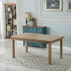Round Hill Furniture Monotanian 7 Piece Dining Table Set Blue - T171-C171BU-C171BU-C171BU
