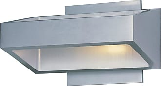 ET2 E41302-SA Alumilux 7 LED Wall Sconces Satin Aluminum Outdoor