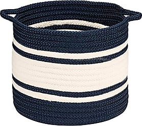 Colonial Mills Outland Basket, 14x14x12, Navy