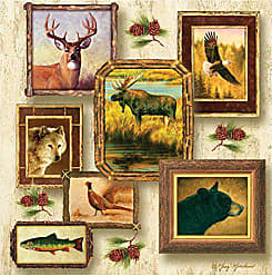 Thirstystone 4-Piece Wildlife II Coaster Set