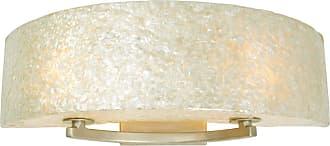 Varaluz Radius Two Light Bath Fixture - Crushed Natural Capiz