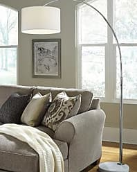 Ashley Furniture Areclia Arc Lamp, Chrome Finish