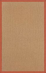 Linon Linon Collection Athena Brown & Burnt Orange, 8.9 x 12
