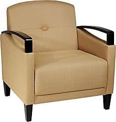 Office Star Avenue Six MST51-C28 AVE SIX Main Street Chair, Yellow