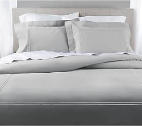 Elite Home Products Elite 200TC 3-Pcs Cotton Percale Duvet Set - Light Gray - Size:Twin Elite Home
