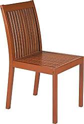 Mobly Cadeira Fixa de Madeira Jatobá Natural - Fitt - Terrazzo Fitt - Cor Natural - Tramontina