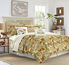 Revman International Tommy Bahama Loredo Gardens Comforter Set, King, Orange