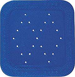 Kleine Wolke 4325733002 colore: azzurro scuro Tappetino per la doccia Calypso 55 x 55 cm