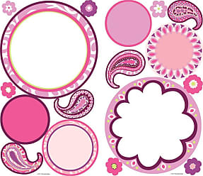 RoomMates Paisley Dry Erase Peel and Stick Wall Decals - RMK1657SCS