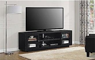 Ameriwood Home Bailey TV Stand, Black Oak