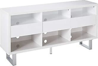 Coaster Fine Furniture 701070 TV Console, High Glossy White