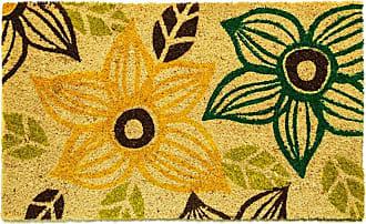 Dynamic Rugs Aspen Flowers Door Mat - AS232965999