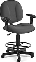 OFM 105-AA-DK-803 Comfort Series Super chair with Arms and Drafting Kit
