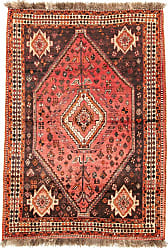 Nain Trading Ghashghai Rug 57x40 Beige/Brown (Iran/Persia, Wool, Hand-Knotted)