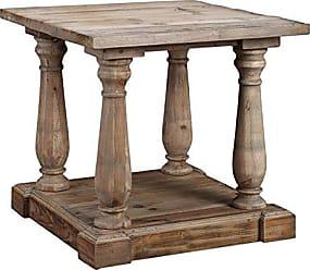 Boraam Burnham Home 17121 Kloss Side Table, Natural