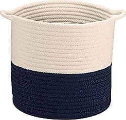 Colonial Mills Craftworks Basket, 18x18x17, Navy
