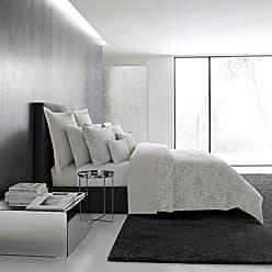 Revman International Vera Wang Tuille Floral Bedding, Euro, Light Pastel Grey