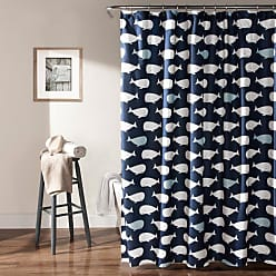 Lush Décor Whale Shower Curtain - C41918P15-000