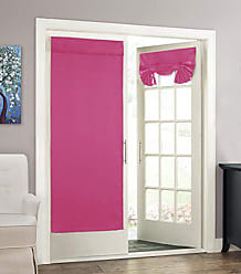 Ellery Homestyles Eclipse 14898026068PNK Tricia 26-Inch by 68-Inch Thermal Single Door Panel, Pink