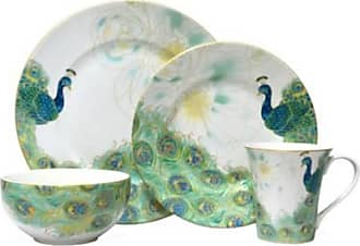 222 Fifth Lakshmi 16 Piece Dinnerware Set