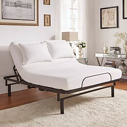 Weston Home Ron Adjustable Electric Bed Base with Wireless Remote Control, Size: Queen - 68E904BQ-EE