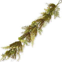 National Tree Company National Tree 45 Inch Garden Accents Fern and Lavender Garland (GAGL30-45GGL)