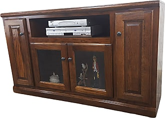 American Heartland 55 in. Oak TV Stand - Assorted Finishes - 46855LT