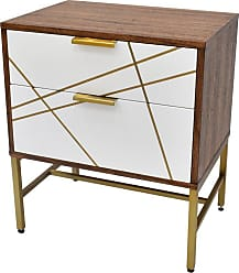222 Fifth Edouard 2 Drawer Nightstand - 7098WH004A1P88
