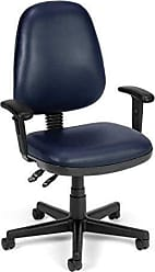 OFM 119-VAM-AA-605 Straton Series Anti-Microbial/Anti-Bacterial Vinyl Task Chair with Arms