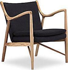 Kardiel Copenhagen 45 Mid-Century Modern Arm Chair, Urban Ink Twill