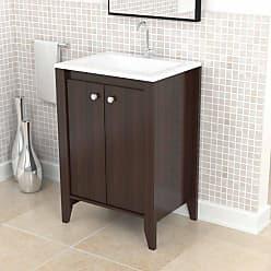 Inval America Traditional Bathroom Vanity - Espresso - GB-3426