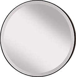 Feiss MR1127ORB Johnson Mirrors in Oil Rubbed Bronze finish with Clear Glass