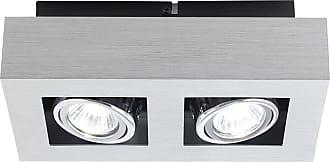 Eglo Lighting Loke Track Lighting in Brushed Aluminum - Chrome - Black