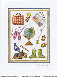 Buyartforless Globe by Karyn Frances Gray 7 X 5 Art Print Poster