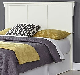 Home Styles 5182-511 Arts & Crafts Bed Headboard, Queen, White