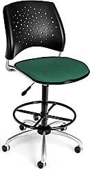 OFM 326-DK-2205 Stars Swivel Stool with Fabric Seat