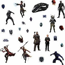 RoomMates Black Panther Characters Peel And Stick Wall Decals - RMK3804SCS