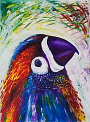 Novica Colorful Parrot